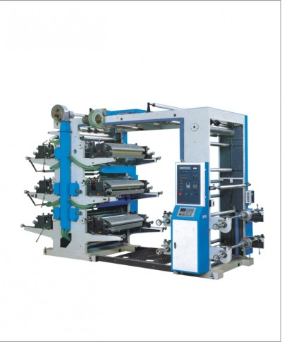 YT6600 Six color flexible printing machine