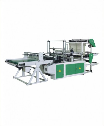 MD-HC double layer four line bottom sealing bag making machine