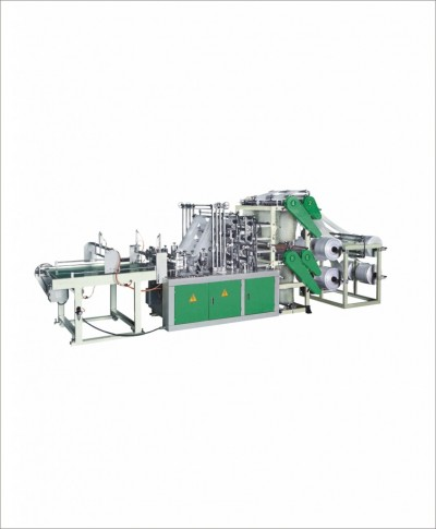 MD-HC Four layer eight lines bottom sealing bag making machine