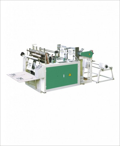 MD-DFR350X2A Computer controlled heat sealing & heat cutting bag making machine (two lines)